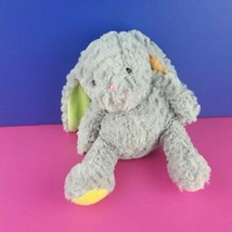 "Animal Adventure Gray Plush Bunny Pastel Lop Ears Feet Rabbit 8"" 2016  - $20.78"