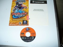 Beyblade V Force (Nintendo Gamecube) Disc and Instruction Booklet - $2.97
