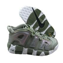 Nike Air More Uptempo Dark Stucco White Iridescent 917593 001 Womens Size - $99.95