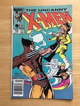 Uncanny X-Men 195 NM Condition 1985 Marvel Comic Book Wolverine Cover Po... - $4.49