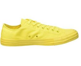 Converse Unisex All Star Ox Monochrome 152705C Sneakers Aurora Yellow UK 3 - $64.31