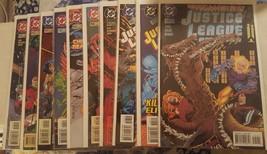 Justice league america #104, 105, 106, 107, 108, 109, 110, 111, 112, 113, - $17.50