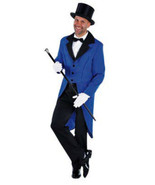 "Blue ""Show Jacket""   Tailcoat  - Gents - $11.17 - $34.15"
