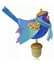 Four Calling Birds 2014 Hallmark Ornament Twelve Days of Christmas #4 Bl... - $47.85