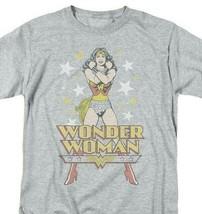 Wonder Woman T-shirt Stars retroDC comic book Batman superhero tee DCO552B image 1