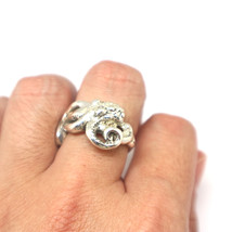 Silver Octopus Ring  - $92.00