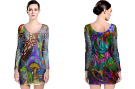 DMT Collection #2 Women's Long Sleeve Bodycon Dress - $25.80+