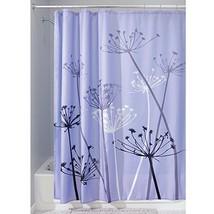 InterDesign Thistle Shower Curtain, Standard - Purple and Gray - $18.36