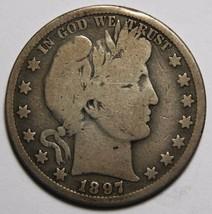 1897O Liberty Barber Head Half Dollar 50¢ Silver Coin Lot A 2263