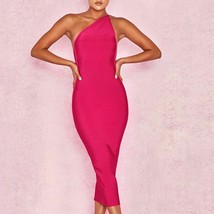 Fashion Women Dress One Shoulder Spandex Lady Casual Party Cloths Sexy Backless  - $47.99