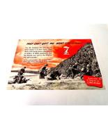 ORIGINAL Vintage 1945 Film Industry WWII 7th War Loan 12x18 Ad Poster  - $233.49