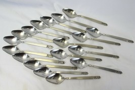 "International Deluxe Norse Teaspoons 6.25"" Lot of 18 - $97.02"