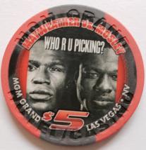 Mayweather Vs Mosley May 1 2010 $5 @ Mgm Grand Boxing Chip - $14.95