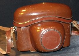 Zeiss Ikon Contaflex Super Camera with hard leather Case AA-192012 Vintage image 7