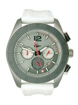 Lacoste Panama Chronograph Leather - White Men's watch #2010667 SHIPSFREE - $139.98