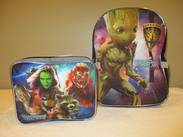 Marvel Guardians of the Galaxy Volume 2 Childrens Backpack and Lunchbox - $16.61