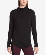 Calvin Klein Performance Mock-Neck Top, Size S, MSRP $59 - $31.08