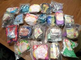 Mixed Lot of 21 Burger King & McDonald Kid Meal Toys Barbie Rugrats etc ... - $29.70