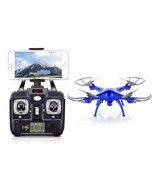 Wifi FPV Hd Camera Drone Quadcopter Headless Mode Altitude Hold 3D Lock ... - $129.37 CAD