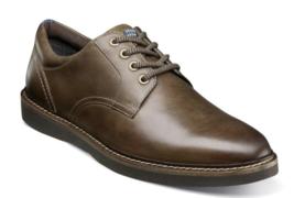 Nunn Bush Ridgetop Plain Toe Oxford Shoes Brown CH Leather Casual  84823-215 - $84.60