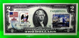 1976 BICENTENNIAL TWO DOLLARS USA CANCELED STAMP ARIZONA MEMORIAL GEM UNC - $132.30