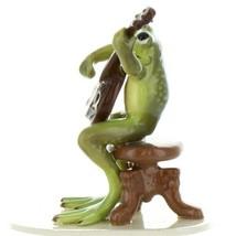 Hagen Renaker Miniature Frog Froggy Mountain Breakdown Banjo Ceramic Figurine image 2