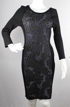 INC International concepts women's dress rayon nylon black size M - $16.60
