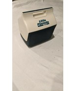 Vintage Little Playmate Cooler by Igloo Blue and White Retro Era USA - $11.87