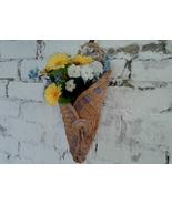 Wicker wall basket - $20.00