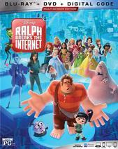 Disney Ralph Breaks the Internet [Blu-ray + DVD + Digital] (2019)