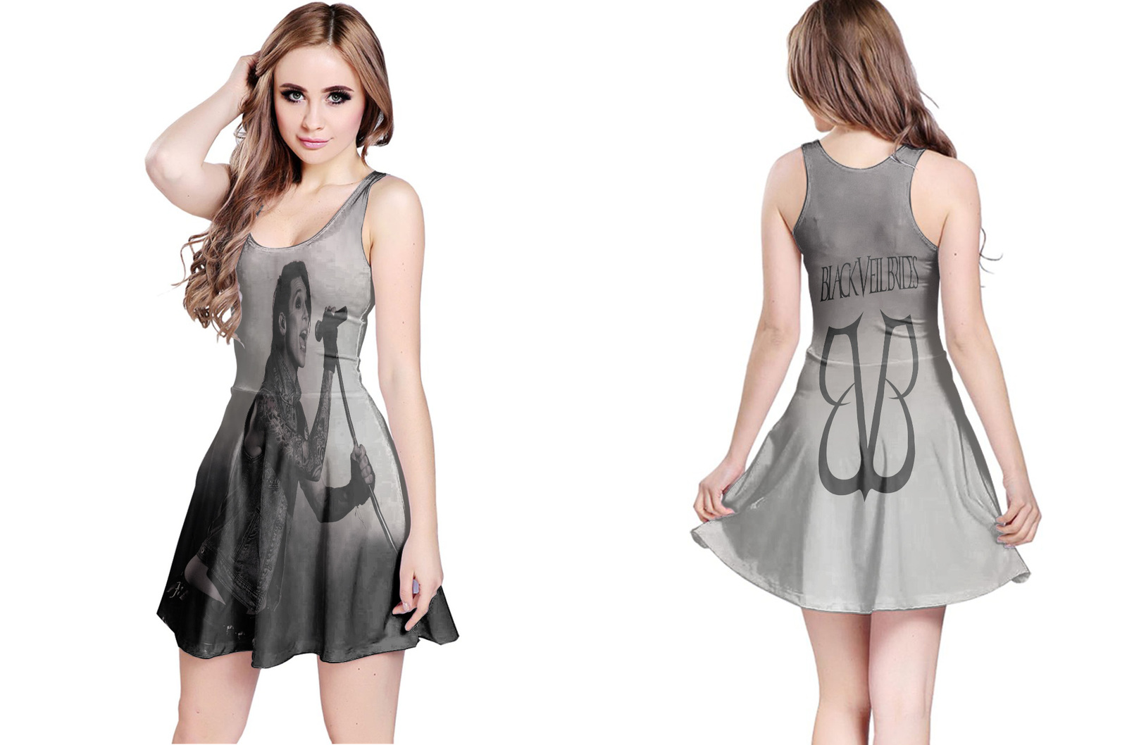 Primary image for Black Veil Brides Collection #1 Women's Reversible Dress