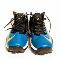 NEW NIKE Zoom Code Elite Football Cleats Mens 15 Turquoise Black 618140-015 - $24.18