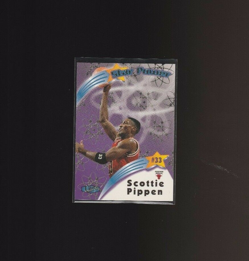 1997-98 Fleer Ultra Star Power 14SP Scottie Pippen Chicago Bulls