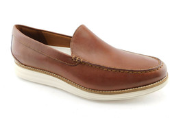 New COLE HAAN Size 11.5 GRAND ORIGINAL VENETIAN Brown Loafers Shoes 11 1/2 - $95.00