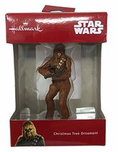 Star Wars 2018 Hallmark Disney Chewbacca Christmas Tree Ornament - $19.57