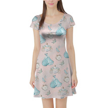 Almost Midnight Cinderella Inspired Short Sleeve Dress - $44.99+