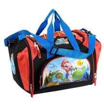 Nintendo Super Mario Galaxy 2 Mini Duffel Bag - Black/Red - $18.66