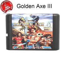 Golden Axe III 16 bit MD Game Card For Sega Mega Drive For Genesis free ... - $7.91