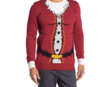 Ugly Christmas Sweater Santa Claus Crew Neck Ugly Christmas Sweater Size L