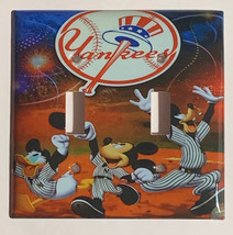 NY Yankees Mickey Donald Duck Light Switch Outlet Wall Cover Plate home decor image 6