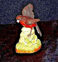 Robin Bird FigurineAA18-1236 VintageCeramic image 3