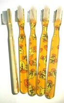 5-PACK FUN Vintage NEW Designer Toothbrush By Alan Stuart New York - $11.83