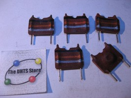 Inductor Coil 83uH PCB Mount - Vintage NOS Qty 5  - $9.49