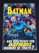 Batman #211 1969 Silver Age DC Comic Book [Comic] [Jan 01, 1969] Frank Robbins - $14.96