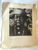 Barry Goldwater Signed Photograph of Indian - $9.99