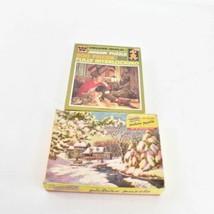 Lot 2 Vintage Whitman Picture Puzzle 500 Pcs Puzzles Complete - $31.24