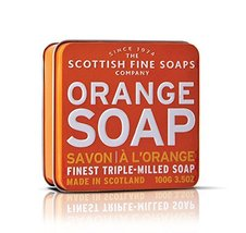 Scottish Fine Soaps Triple Milled Orange Soap f... - $22.38