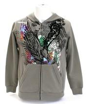 Billabong Gray Graphic Hooded Sweatshirt Hoodie Youth Boy's S NWT - $59.39