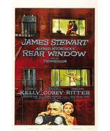 rear window vintage alfred hitchcock Movie poster 24x36  Jjmmy stewart   - $21.99