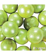 Large Shimmer Lime Green Gumballs 2 lb - $17.39